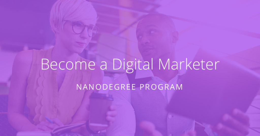 Become a digital marketer